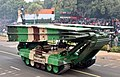 Bridge Layer Tank on Ajeya manufactured by Heavy Vehicles Factory (HVF) of Ordnance Factory Board.jpg