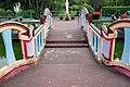 Bridge connecting to pavilion island, Haw Par Villa (14770947476).jpg