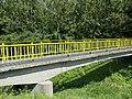 Bridge over Gyöngyös stream, Keszthely-Hévíz bike road, 2016 Hungary.jpg