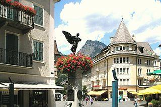 Brig-Glis Place in Valais, Switzerland