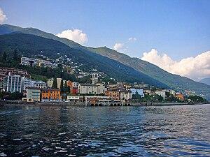 Brissago - Brissago from Lake Maggiore