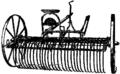 Britannica 1911 Hay - horse rake.png
