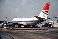 British Airways Boeing 747-136; G-AWNJ@LHR, April 1978 (5888949960).jpg