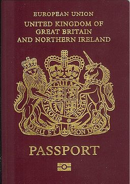 British biometric passport