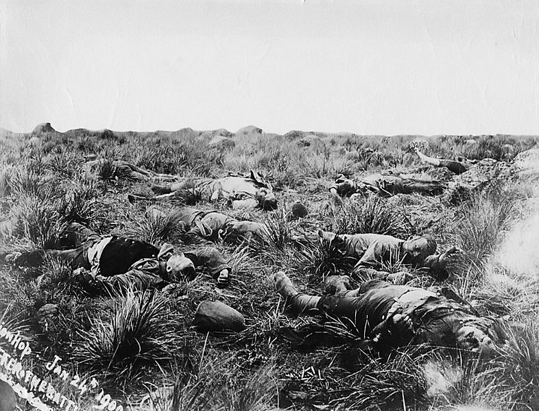 File:British casualties, Spionkop, 1900.jpg