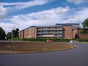 University of Nottingham Students' Union -  Broadgate Park (pictured) has a residential Association which represents over 2000 people.