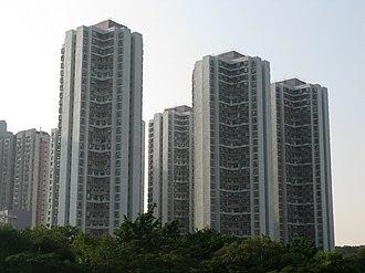 Public housing estates on Tsing Yi Island - Broadview Garden