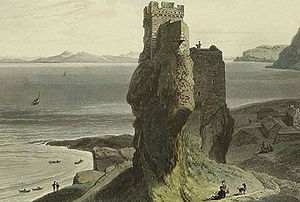 Clan MacLeod of Lewis - Image: Brochel Castle