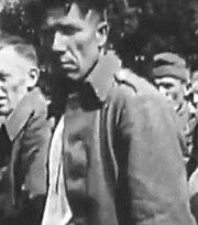 Bronislaw Urbański, about to be sent to Stalag VA (13-10-1939)
