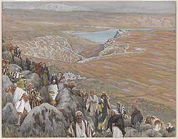 James Tissot: The People Seek Jesus to Make Him King