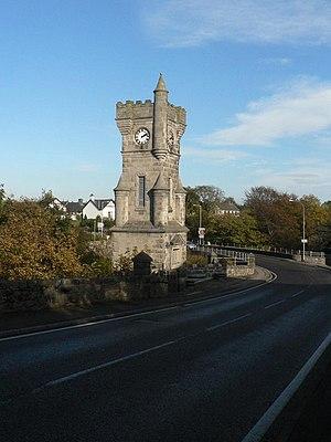Brora - Clock Tower War Memorial, dedicated 1922