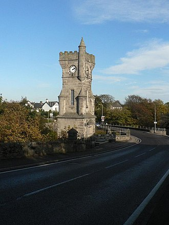 Brora - Clock Tower War Memorial, dedicated 1922