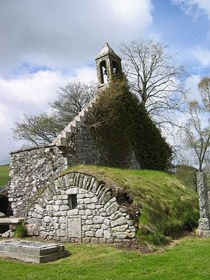 Broughton, Scottish Borders - Broughton, kirk ruin