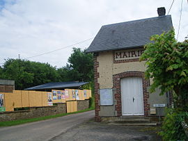 Brullemail Orne Normandy town hall.JPG
