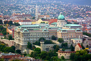 Buda Castle castle and palace complex of the Hungarian kings in Budapest