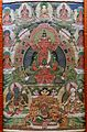 Buddha of Longevity, 1644-1911 AD, thangka - Sichuan University Museum - Chengdu, China - DSC06195.jpg