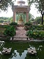 Budha statue at Budha Garden in Delhi 2013-09-12 19-00.jpg
