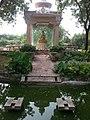 Budha statue at Budha Garden in Delhi 2013-09-12 19-00.jpg
