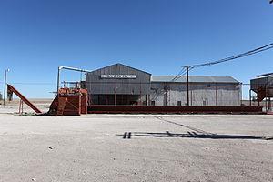 Bula, Texas - Abandoned cotton gin in Bula