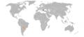 Bulgaria Paraguay Locator.png