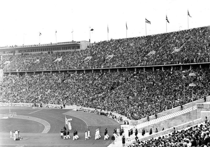 Bundesarchiv B 145 Bild-P017045, Berlin, Er%C3%B6ffnung der XI. Olympischen Spiele