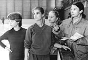 Bundesarchiv Bild 183-1984-1225-010, Jutta Müller, Katarina Witt, Simone Lang, Constanze Gensel