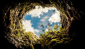 Campos Gerais National Park - Image: Buraco do Padre Ponta Grossa PR