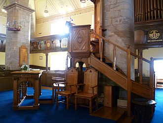 Burntisland - The Kirk's plan and design are unique in Scotland