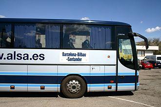 ALSA (bus company) - ALSA Setra S319GT-HD bus in 2005