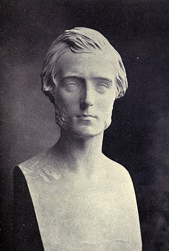 Goldwin Smith - Bust of Goldwin Smith, by Alexander Munro, 1866.