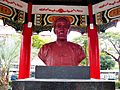 Bust of Lian Heng at Taipei New Park 20130123.jpg