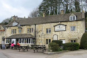 Sheepscombe - The village pub, the Butcher's Arms