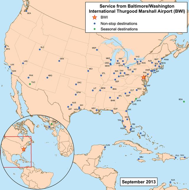 Baltimore/Washington International Airport - Wikiwand