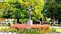 Bydgoszcz , Polska - Jesienny widok pomnika Łuczniczki w parku im Jana Kochanowskiego. - panoramio.jpg