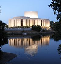 Bydgoszcz Opera Nova jasny zmierzch
