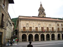 Plaza Mayor de Vergara.