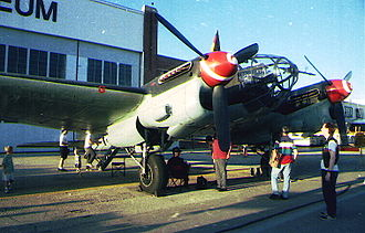 Construcciones Aeronáuticas SA - CASA 2.111 a licensed production version of the He 111-H Bomber, re-engined in Spain with imported Rolls-Royce Merlins at the end of World War II. CASA built 236 of this aircraft between 1940 and 1956