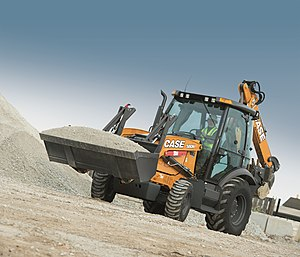 Case Construction Equipment - CASE 580N tractor loader backhoe.