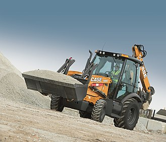 Case Construction Equipment - CASE 580N tractor loader backhoe.