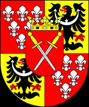 Melchior von Diepenbrock - Image: COA cardinal DE Diepenbrock Melchior Ferdinand Joseph
