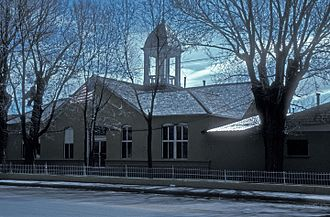 Costilla County, Colorado - Image: COSTILLA COUNTY COURTHOUSE, SAN LUIS, COLORADO