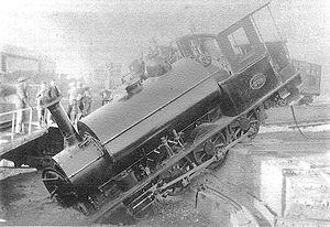 CGR 1st Class 2-6-0 1876 BP - OVGS no. 3, CSAR no. 303 Bloemfontein, c. 1902