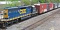 CSX Transportation - 2443 diesel locomotive (Marion, Ohio, USA) (43174295472).jpg