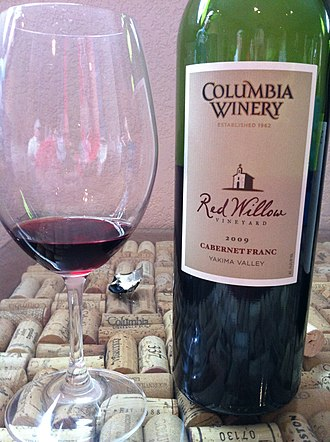 Cabernet Franc - The first varietal Cabernet Franc in Washington State was produced by Columbia Winery from grapes grown at Red Willow Vineyard in the Yakima Valley.