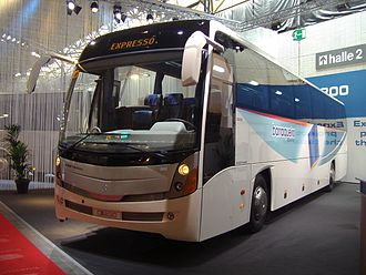 Salvador Caetano - A Caetano Intercity CI 200 coach at the Busworld 2007 exhibition in Kortrijk, Belgium