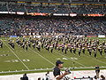 Cal Band performing pregame at 2008 Emerald Bowl 06.JPG