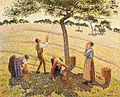 Camille Pissarro - La récolte des pommes à Éragny.jpg