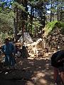 Camp médiéval Chateaux de lastours.JPG