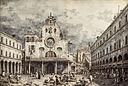 Каналетто, Венеция 1697-1768, Кампо Сан Джакомо ди Риальто, Венеция, перо и коричневые туши.jpg