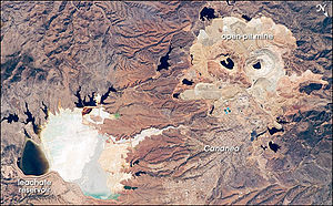 Cananea - The large Cananea copper mine produced almost 164,000 tonnes of copper in 2006.